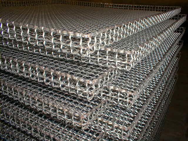 Reti in metallo e nastri trasportatori di alta qualità